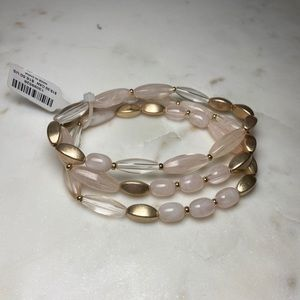 Torrid beaded stretch bracelet set